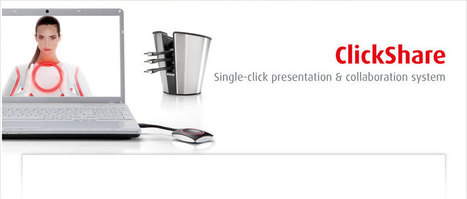 ClickShare wireless presentation system   Barco   Disruptive Influencers   Scoop.it