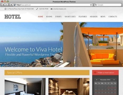 Meilleurs thèmes WordPress premium pour hôtel, gîte, chambre d'hôte. | Création de site internet Montpellier | Scoop.it