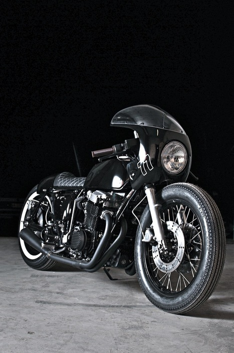 CB750 Supersport by Made Men Bikes | Cafe racers chronicles | Scoop.it