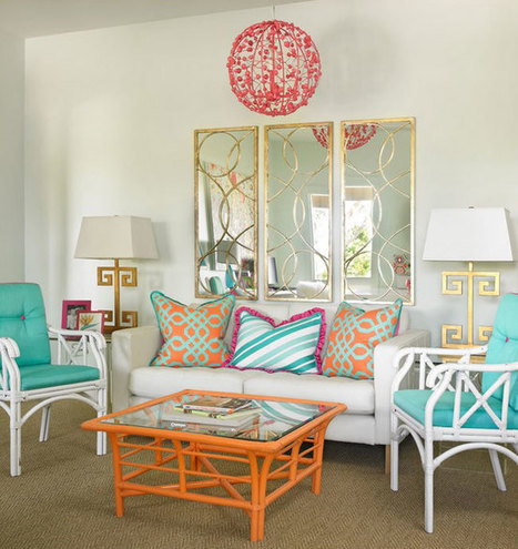 Turquoise Room: Fabulous Ideas and Inspiration   Designing Interiors   Scoop.it