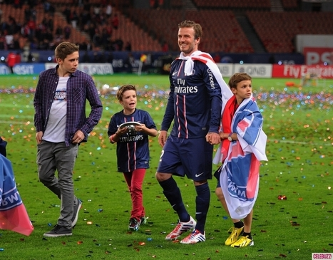 David Beckham Plays Last PSG Home Game: 'It Was An Emotional Night' | ShowBizLondon.com | The UK's Entertainment News & Gossip website | Giving you the complete picture - on all your favourite London celebrities. | Scoop.it