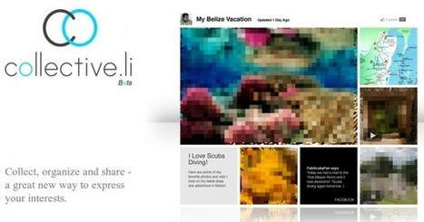 collective.li, crea colecciones atractivas con lo más interesante de Internet | Herramientas TIC para el aula | Scoop.it