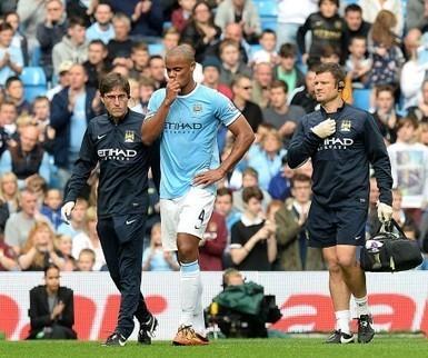 Manchester City en België op ramkoers over blessure Kompany | actua cedric | Scoop.it