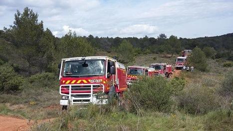 Feux : deux colonnes de renfort préventives   Sapeurs-pompiers de France   Scoop.it