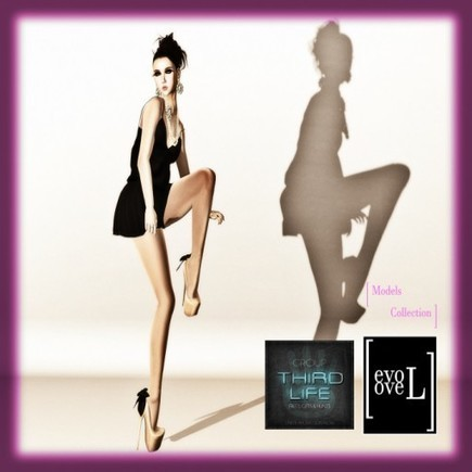 EVOLOVE - MODEL COLLECTIO #2 | THIRD LIFE | 亗 Second Life Freebies Addiction & More 亗 | Scoop.it