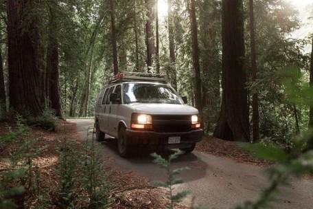 Man quits desk job to transform van into a digital nomad's dream home | Location Independent | Scoop.it