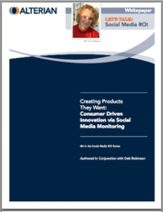CIO White Paper: Consumer Driven Innovation via Social Media Monitoring | Social Media Sentiment | Scoop.it