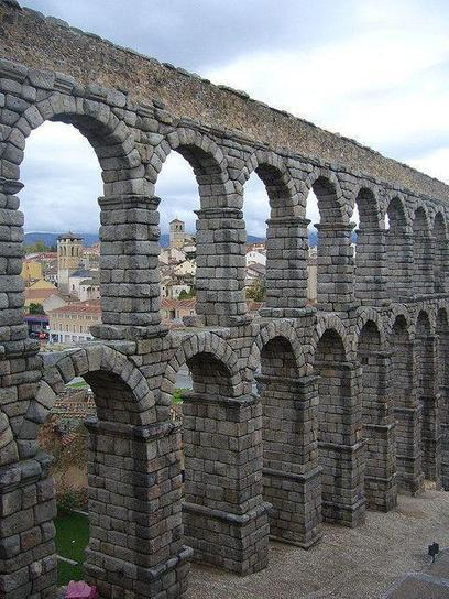 MB Photo Channel on Twitter: Empire remains, Aqueduct of Segovia http://t.co/GOU6PHha3S | Augustus - Princeps, Rome and the Roman Empire | Scoop.it