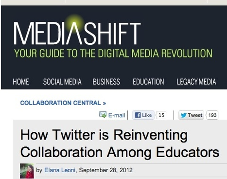 How Twitter is Reinventing Collaboration Among Educators | Edtech 2 Go | Scoop.it