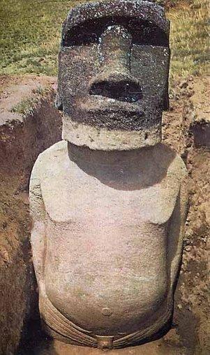 Les statues de l'île de Pâques ont un corps… | Ca m'interpelle... | Scoop.it