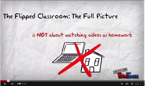A Great Overview of The Flipped Classroom ~ Educational Technology and Mobile Learning | Moodle and Web 2.0 | Scoop.it