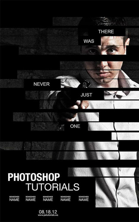 35 Brilliant Photoshop Poster design tutorials | Web Design & Development | Scoop.it