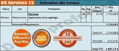 KS Services 13: Chiffrage travaux de ragréage : Bouches du Rhône | Courtier en travaux Bouches du Rhône | Scoop.it