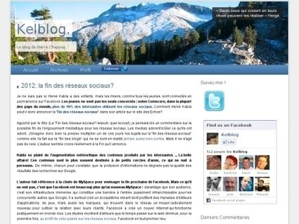2012: la fin des réseaux sociaux? | Websourcing.fr | réseaux sociaux et pédagogie | Scoop.it