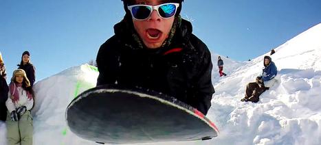 InfinityList – Snowlercoaster – Insane Zipline Sledding!   Zip Lines   Scoop.it