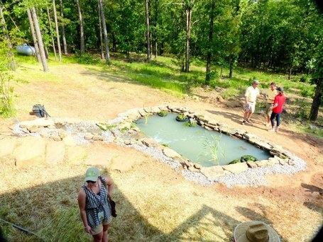 a water feature added to the cottage landscape at moss mountain | Natural Soil Nutrients | Scoop.it