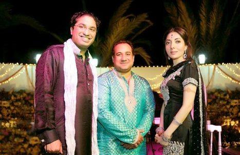 Sharmila Farooqi Looking So Smart In Engagment Dress   smartinstep.com   Scoop.it