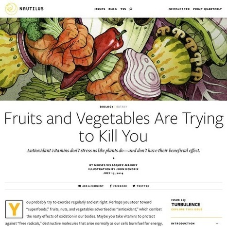 Fruits and Vegetables Are Trying to Kill You | Naturopathic Medicine | Scoop.it