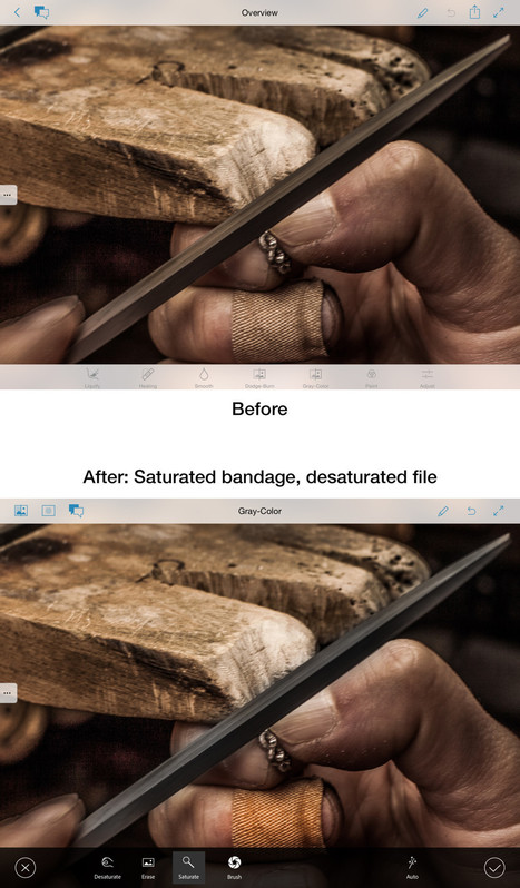Adobe's Upcoming iOS App Retouches Photos in Real Time | iPads in Education Daily | Scoop.it