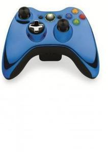 XBOX 360 43G-00023 SPEC. ED. CHROME BLUE WIRELESS CONTROLLER | AVC Distributor | New Arrivals | Scoop.it