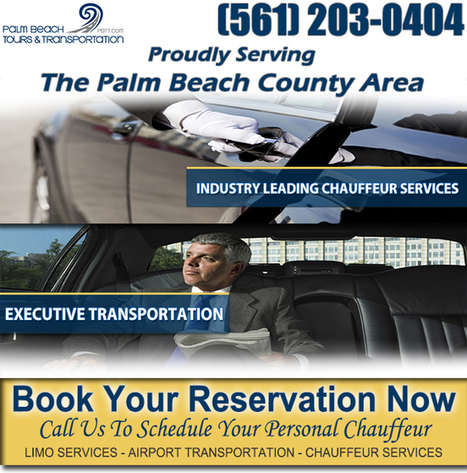 Corporate Transportation Delray Beach | 561-203-0404 | Palm Beach Tours and Transportation | Scoop.it