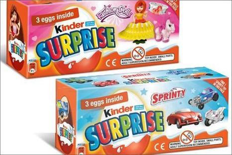 Kinder Surprise denies gender bias with pink and blue eggs, plus five sexist marketing fails | Marketing Magazine | Travel and Media trends | Scoop.it