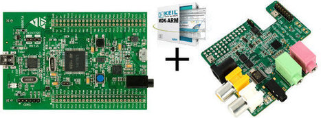 ARM Introduces DSP 'Lab-in-a-Box' For Education Combining STMicro STM32F4-Discovery Board and Wolfson Audio Card | Embedded Systems News | Scoop.it