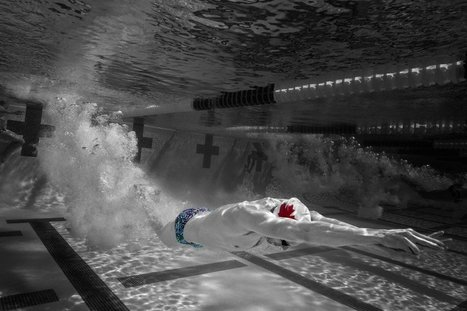 Samsung Develops 'Blind Cap' For Swimmers | Sports Engineering | Scoop.it