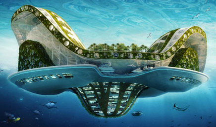 ShowCase: LILYPAD, A Floating Ecopolis for Ecological Refugees | Features | Archinect | Cities & Immigration | Scoop.it