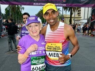91-year-old woman breaks marathonrecord   World   Scoop.it