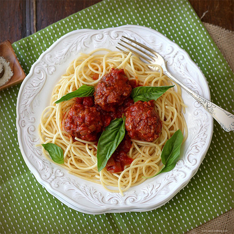 Is Spaghetti and Meatballs Italian? | On the Plate | Scoop.it