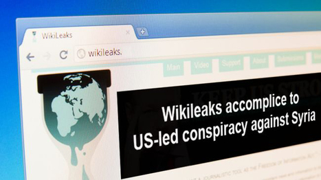 Jul14: #Syria Iranian Press TV says WikiLeaks is a CIA plot against Syria | News from Syria | Scoop.it