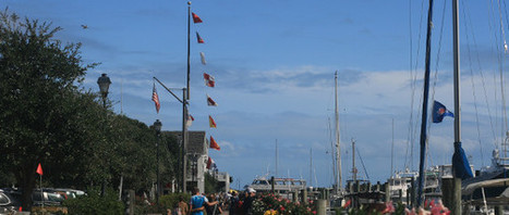7 Shots of Beaufort's Famous Signal Flags | Travel | Scoop.it