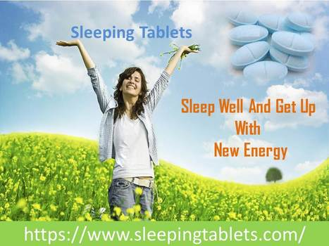 Sleeping Tablets | Solution of Sleeping Disorder (Insomnia) | Scoop.it