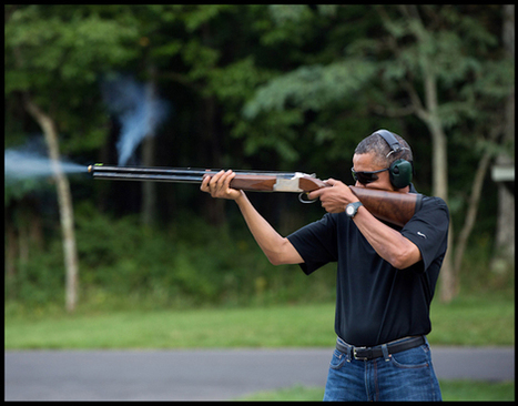 White House Warns: 'Don't Photoshop Obama Gun Pic!'  , duh what did you think they'd  do with the pic dummies Sad Hill News   News You Can Use - NO PINKSLIME   Scoop.it