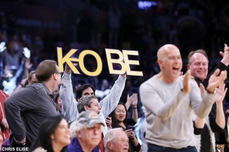 Retraite de Kobe Bryant – Sa lettre d'adieu fait un carton sur eBay | Histoire et patrimoine culturel du sport | Scoop.it