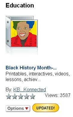 Black History Month LiveBinder | KB...Konnected's  Kaleidoscope of  Wonderful Websites! (Vol. 2) | Scoop.it