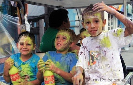 Getting Painted at Carnaval in Ambergris Caye, Belize | Belize in Social Media | Scoop.it