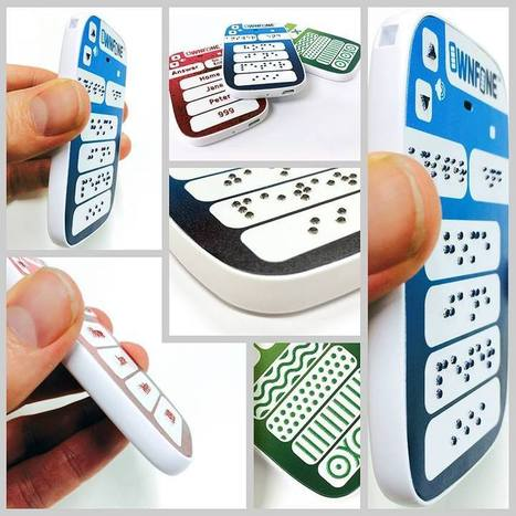 World's First Braille Phone is 3D Printed | 3D printing | Scoop.it