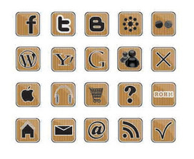 Eps icon - Social Media icon, Apple icon, shopping cart icon and other « Vector | Icon | Wallpaper | Vector Icon Wallpaper | Scoop.it