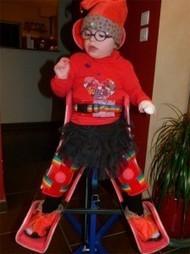 Lucie 4 ans : anomalie chromosomique rare Syndrome de Kleefstra | Handicap & initiatives: Ils nous inspirent ! | Scoop.it
