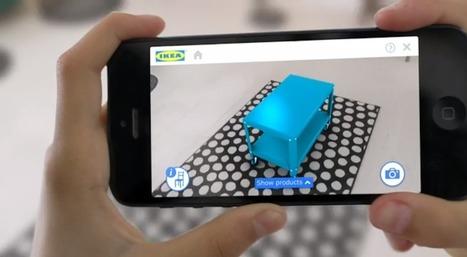 Un'app in realtà aumentata proietterà i mobili Ikea   Social Media (network, technology, blog, community, virtual reality, etc...)   Scoop.it