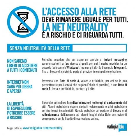Net Neutrality a rischio. Cos'è e perché ci riguarda tutti | Netizen | Scoop.it