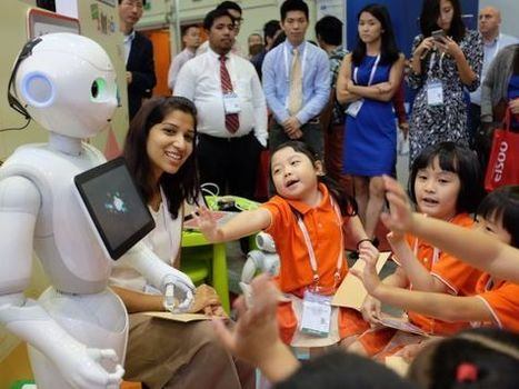 Robots in pre-schools 'make lessons interactive, fun' | Post-Sapiens, les êtres technologiques | Scoop.it