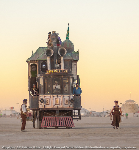 I Want to Go There: The Neverwas Haul Steampunk art car at Burning Man 2012 | Tracking Transmedia | Scoop.it