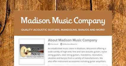 Steel String Acoustic Guitars For Sale- Madison Music Company | Acoustic Guitars | Scoop.it
