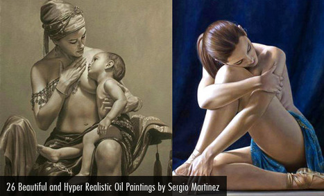 26 Beautiful and Hyper Realistic Oil Paintings by Sergio Martinez Cifuentes | Art Works | Scoop.it