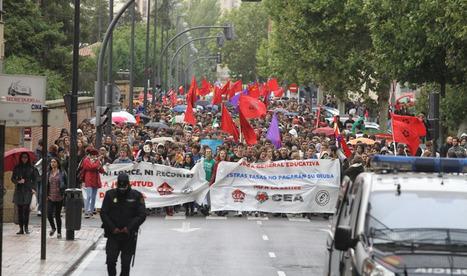 Manifestación estudiantil #24O en Salamanca | Ciudad | Scoop.it