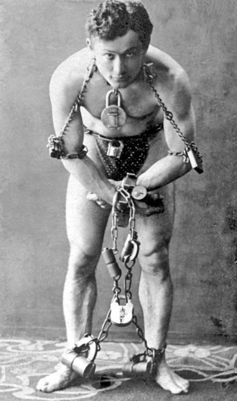 La magie d'Houdini | HISTOIRE LÉGENDAIRE | Scoop.it