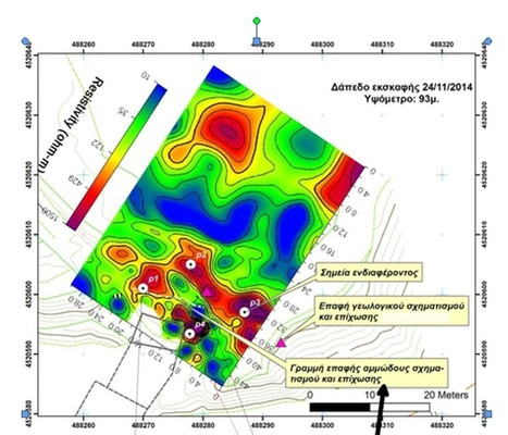 The Archaeology News Network: First geophysical scan of Amphipolis mound released   Shallow Geophysics   Scoop.it